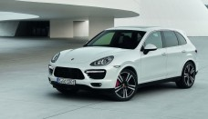 Porsche Cayenne-Turbo SUV a model Wallpapers HD
