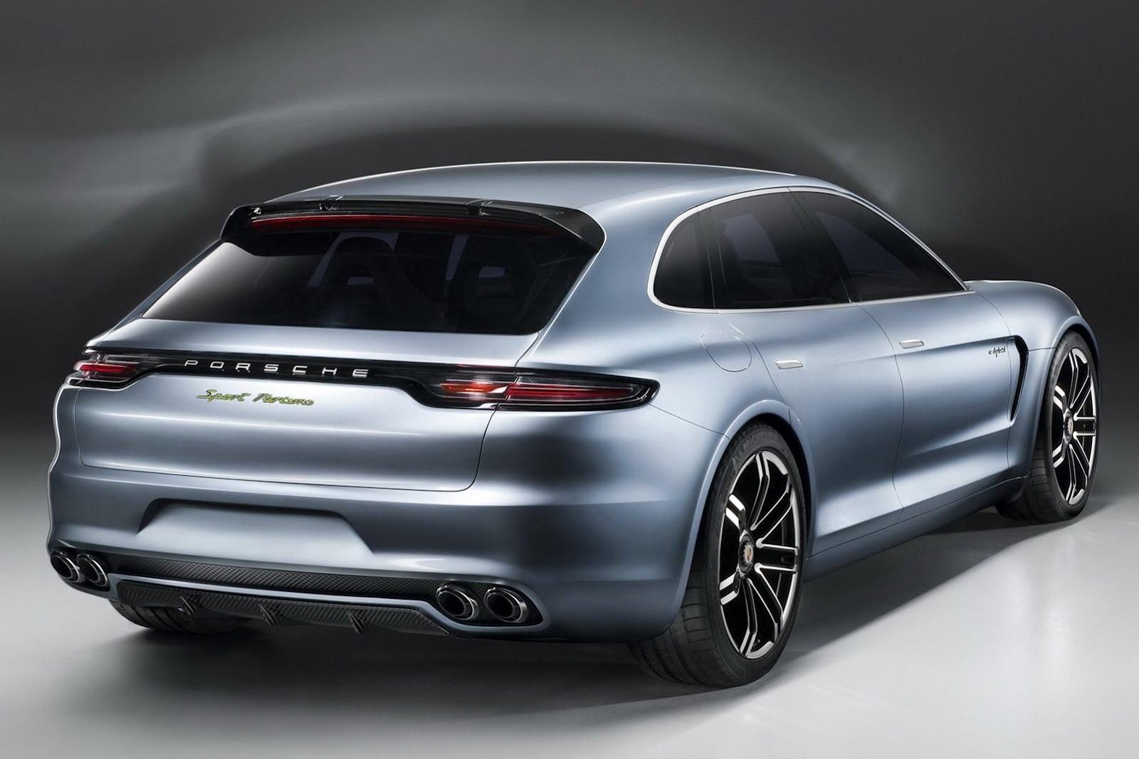 New Porsche Panamera Sport Turismo Concept Previews Next Sedan and Wallpapers HD