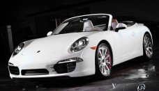 Porsche 911 Carrera S Cabriolet on VKO Concave Wheels From Vellano Addicted to Speed Desktop Backgrounds