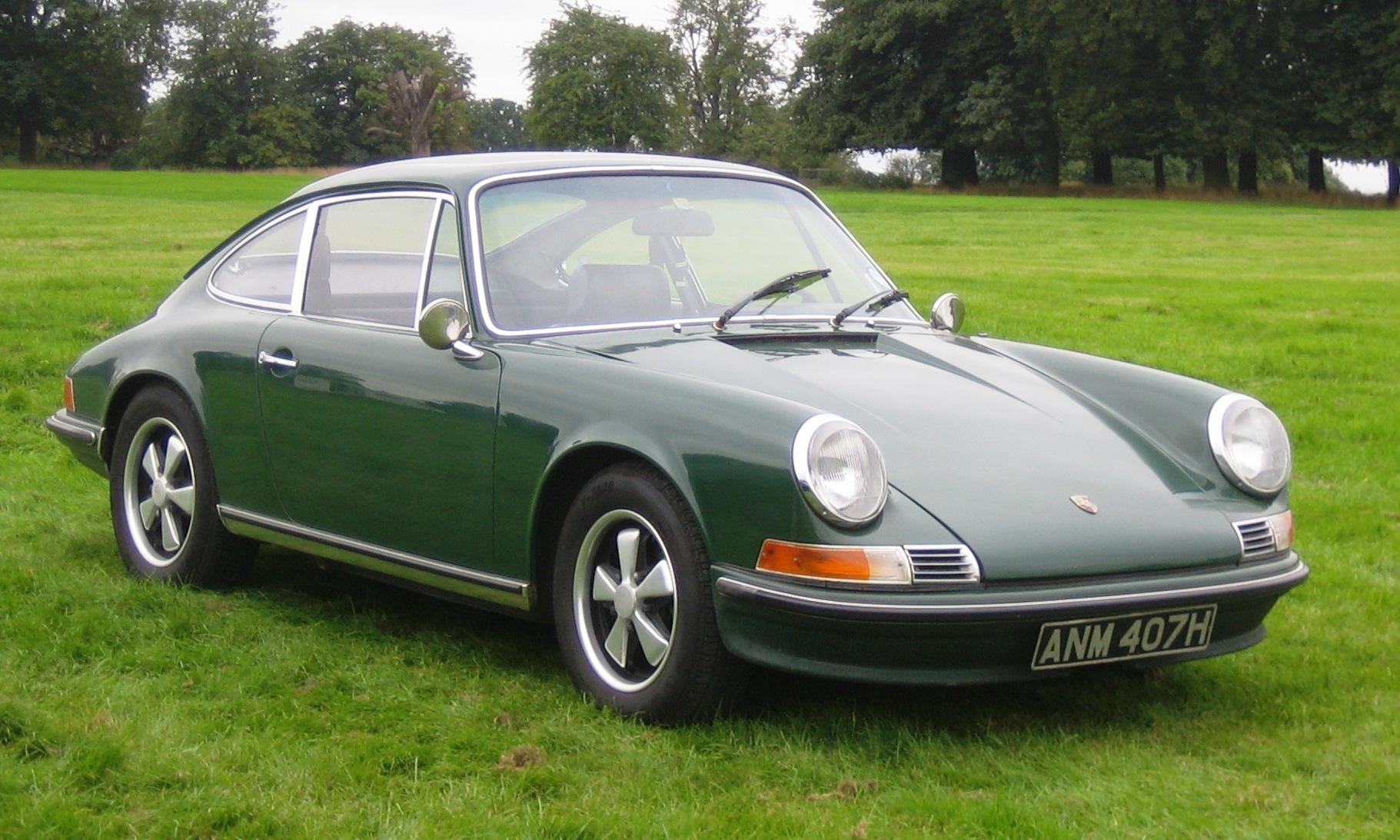 Porsche 911E ca Addicted to Speed Desktop Backgrounds