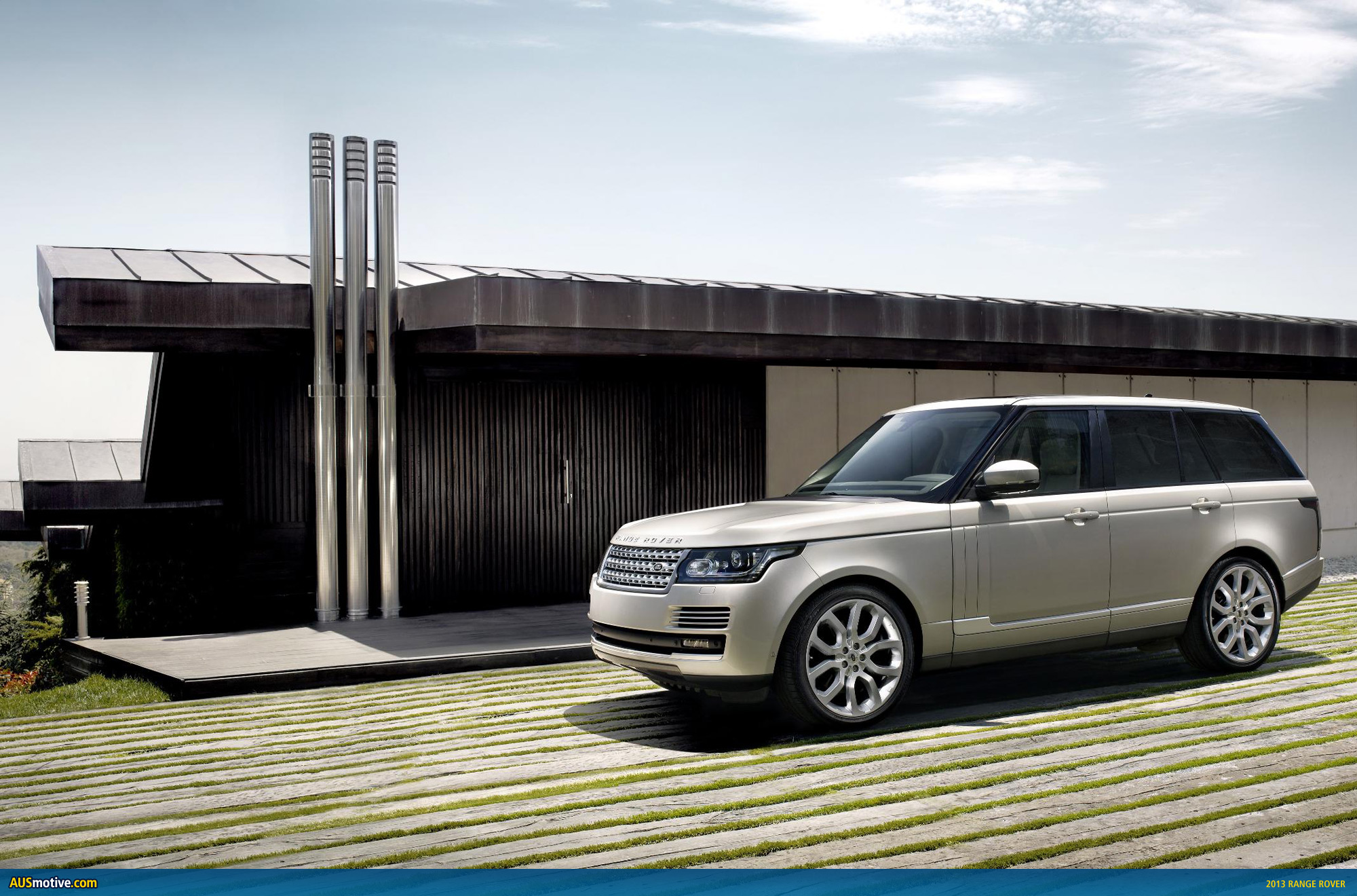 Range Rover officially previewed High Resolution Image Desktop Backgrounds