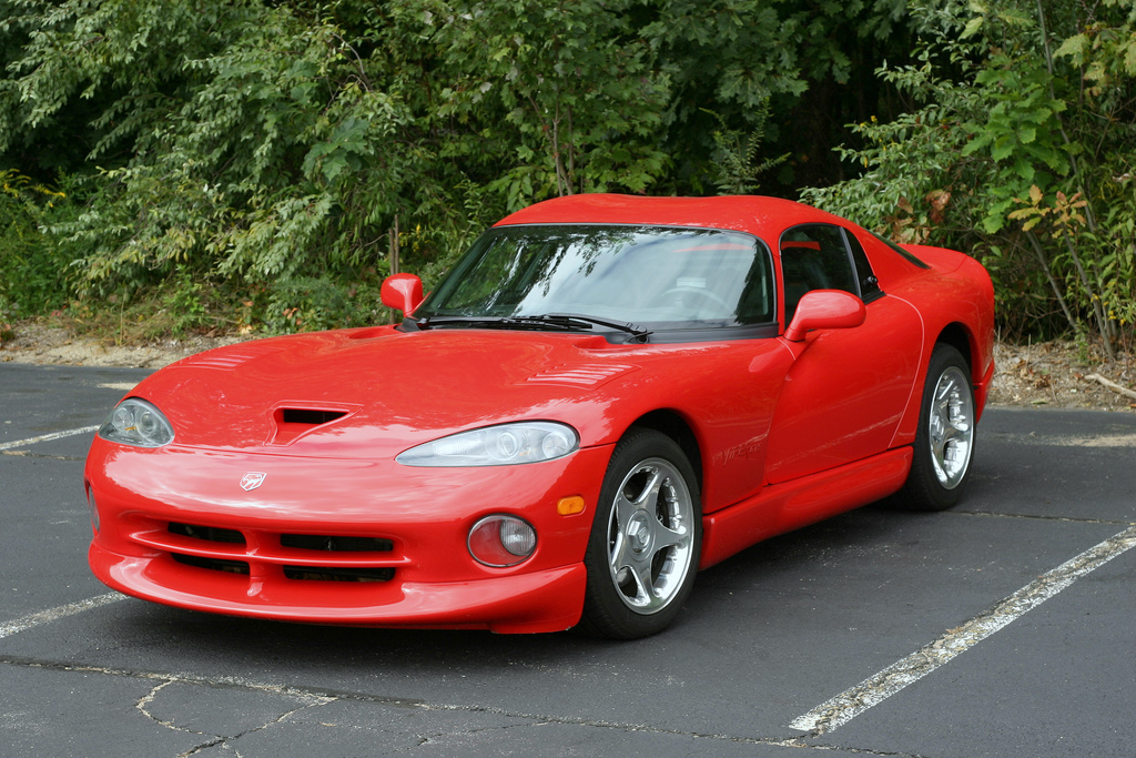 Red Dodge Viper GTS High Resolution Image Wallpaper Backgrounds