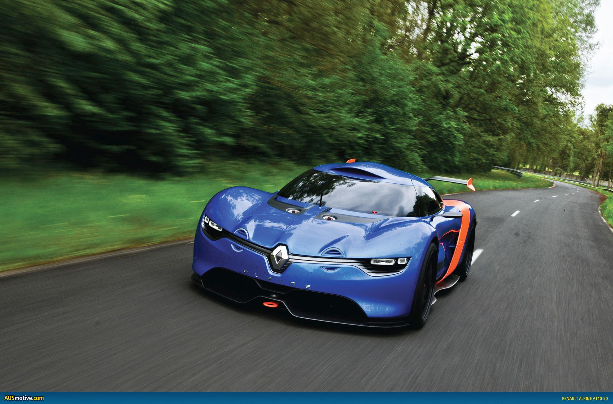 Renault Alpine A110 unveils stunning concept car photos Wallpapers HD