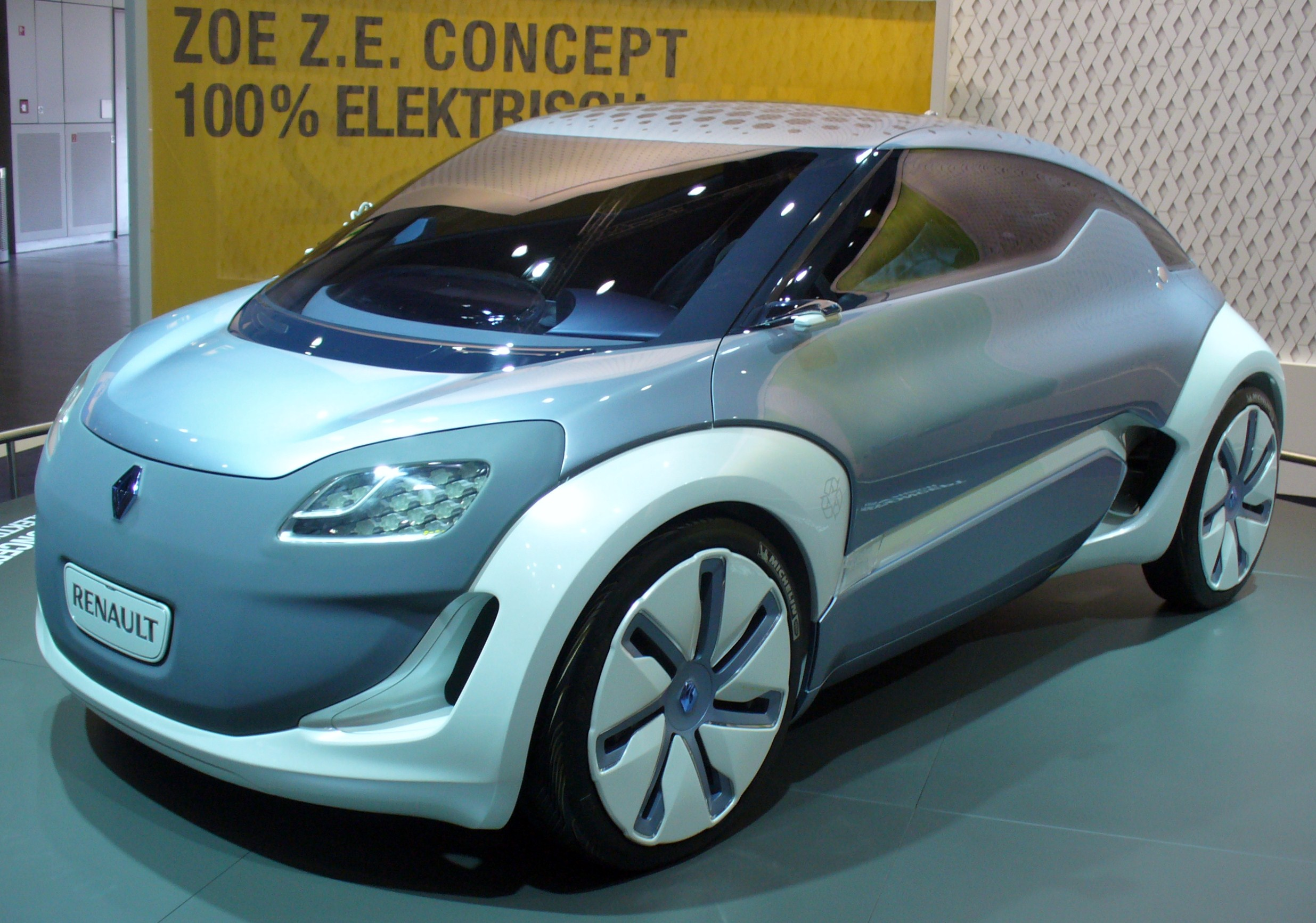 Renault Zoe ZE Concept High Resolution Free Download Image Of
