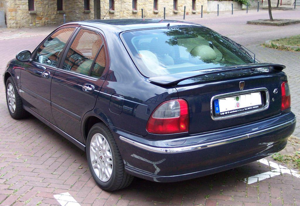 Rover 45 blue hl Desktop Backgrounds