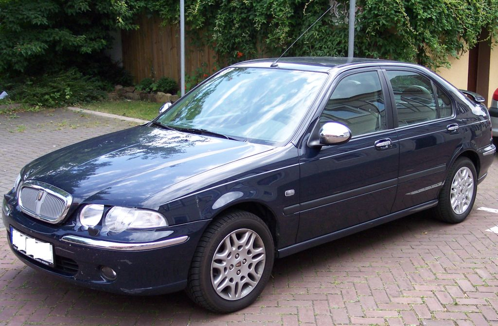 Rover 45 blue vl Wallpapers HD
