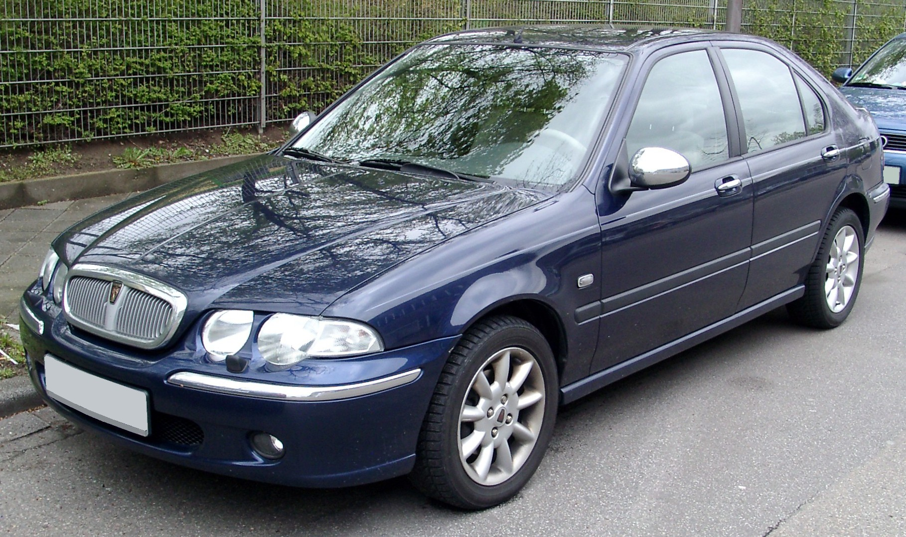 Rover 45 front widescreen Wallpapers HD