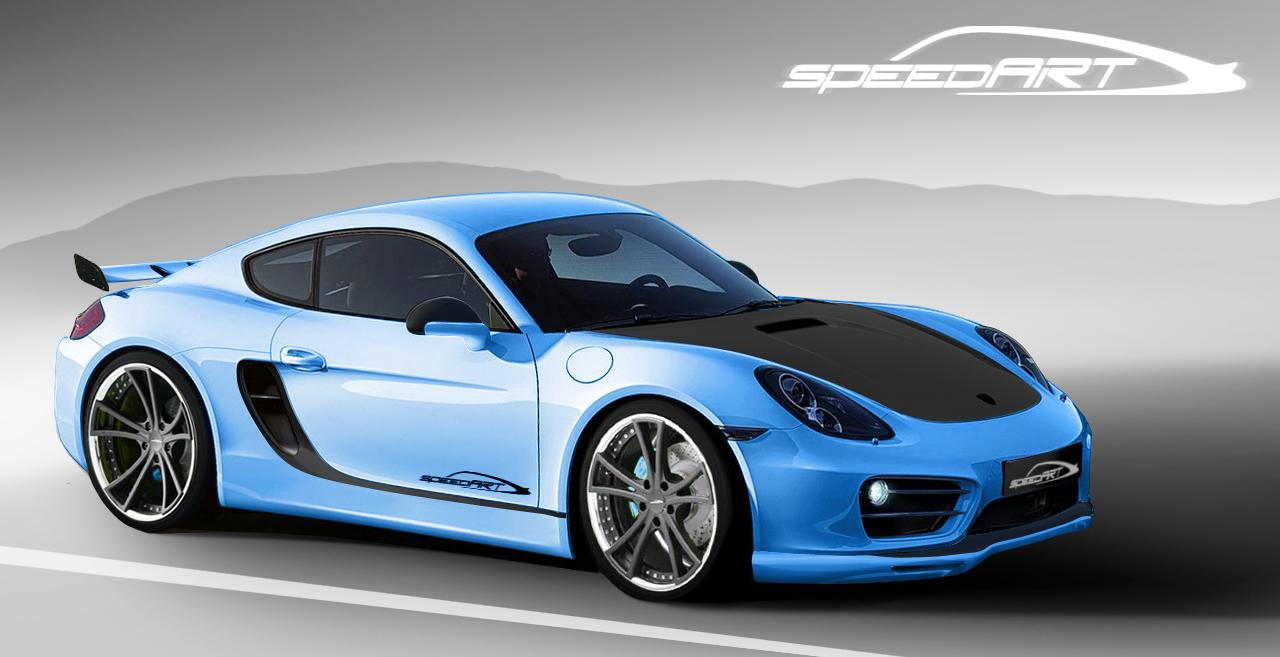 Speed ART Porsche Cayman SP81 CR front Wallpapers HD