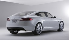 Tesla Model S widescreen picture High Resolution Wallpaper Free