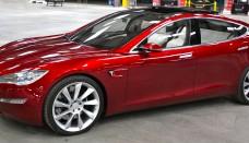 Tesla Model S Indoors trimmed Wallpapers Desktop Download