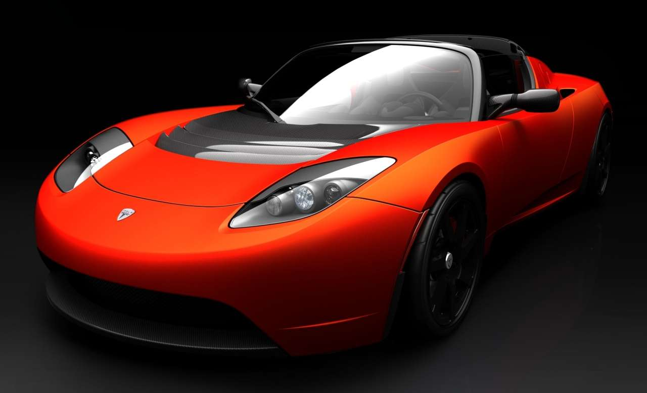 Tesla Motors Roadster Sport Wallpaper Gallery Free