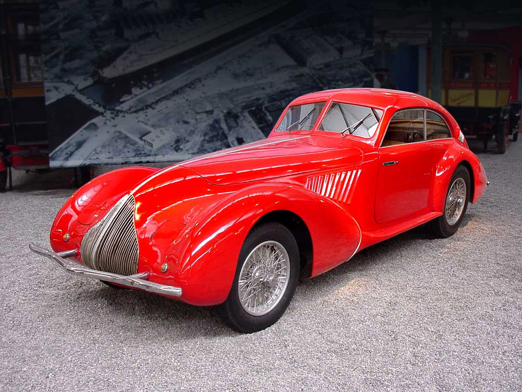 ALFA ROMEO 8C 2900 High Resolution Image Wallpapers Backgrounds