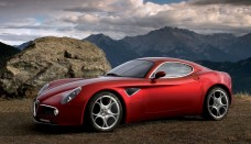 Alfa Romeo 8C Competizione montanas big Car Pictures High Resolution Image Wallpapers Download