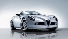 Alfa Romeo 8C Spider nos EUA High Resolution Image Wallpapers Desktop Download