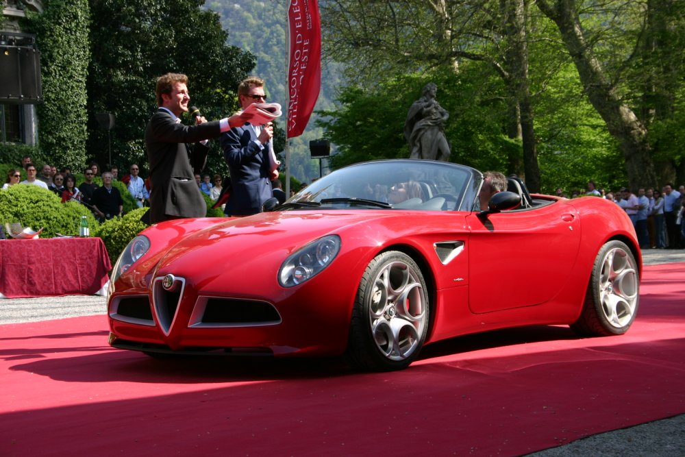 the alfa romeo spider new series is a roadster produced by the High Resolution Image Wallpapers HD