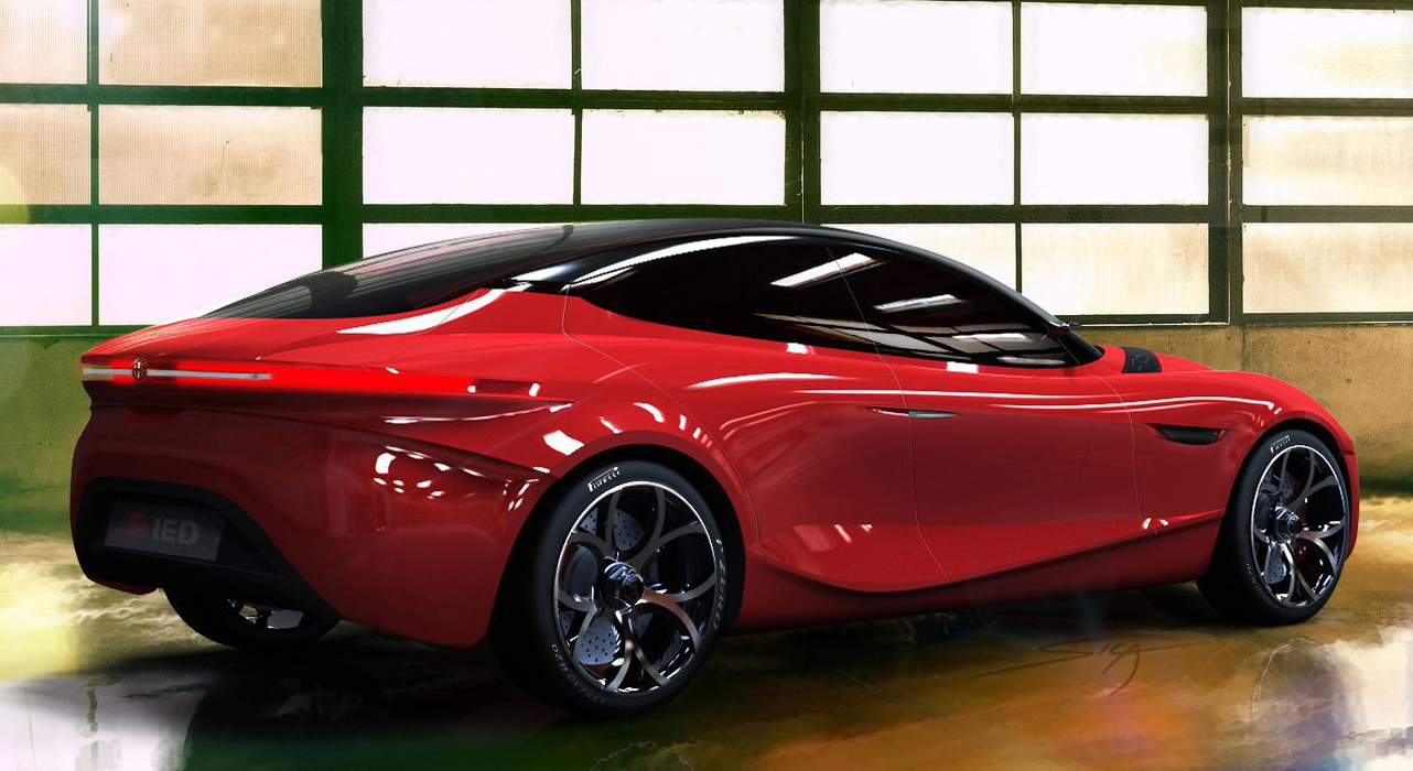 Alfa Romeo Teases Gloria Revealed Further Ahead Of Geneva High Resolution Image Desktop Backgrounds