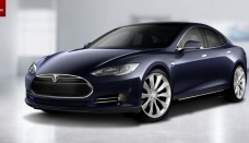 blue Tesla Introduces New Luxury Electric Vehicle Car Images Wallpapers HD