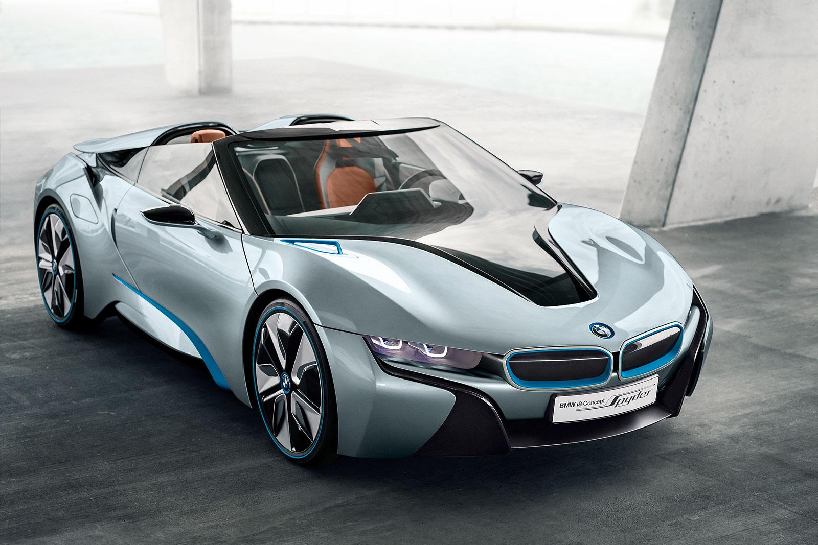 BMW i8 Concept Spyder free image download