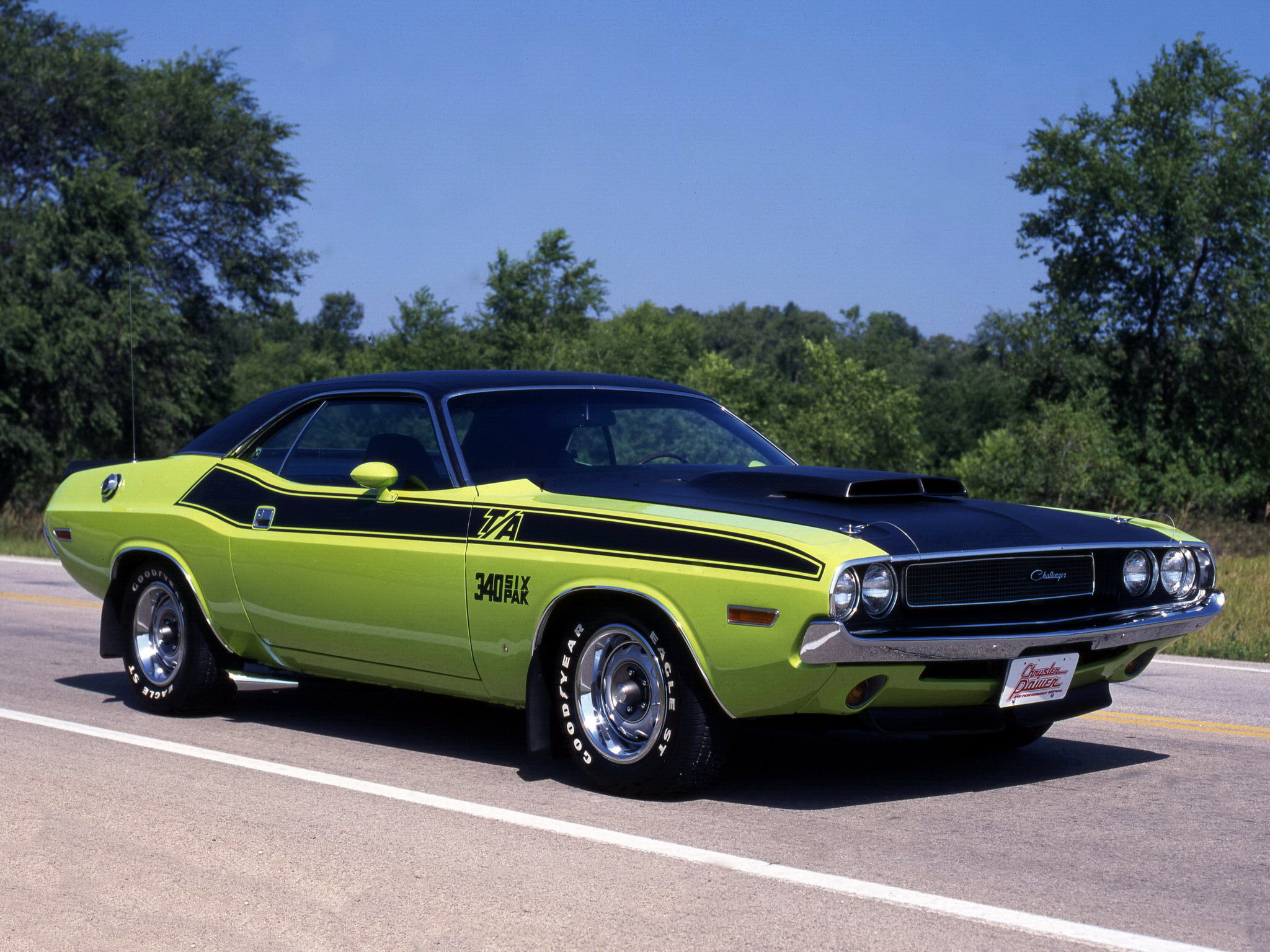 Dodge Challenger 1970 R7 High Resolution Image Wallpapers Desktop Download free