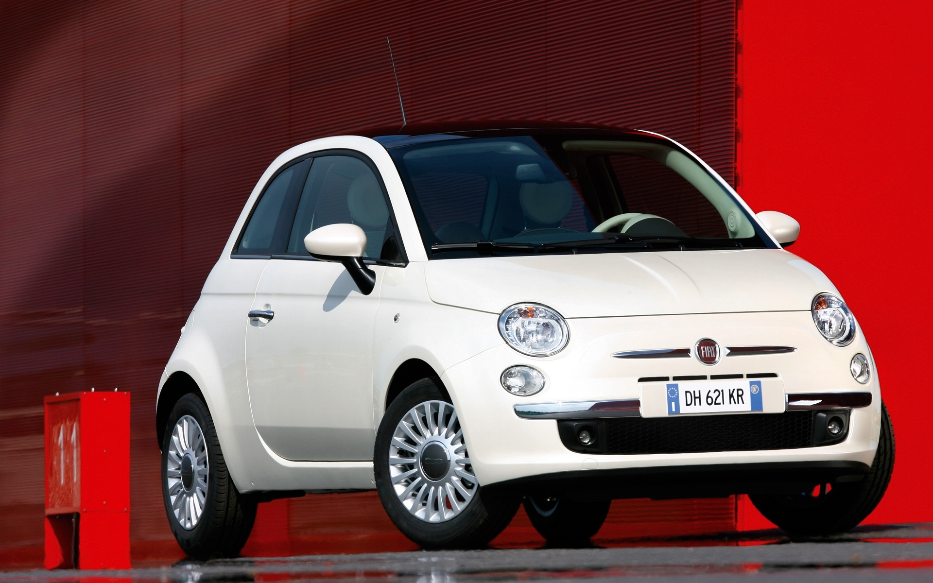 fiat pop 500 front angle wallpaper image editor free download