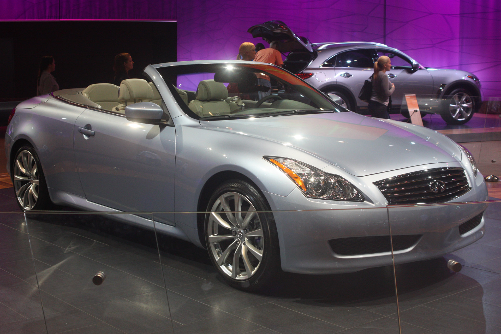 Infiniti G37 Convertible Pictures front full free download image