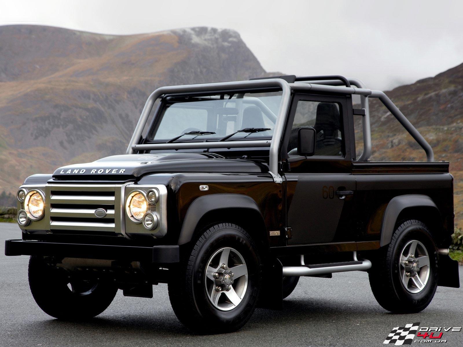 Black Defender Land Rover Wallpapers special edition Desktop Backgrounds