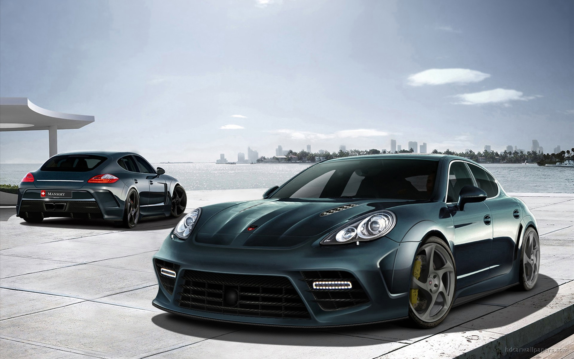 Mansory Porsche Panamera exclusive Wallpaper Backgrounds