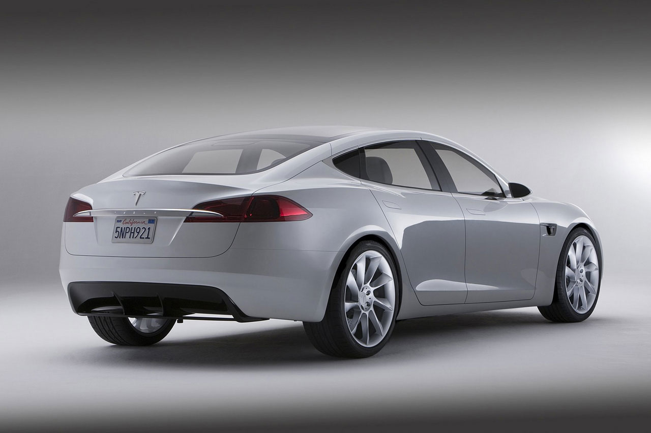 Tesla Model S official Electric Car that Seats Seven Wallpapers HD