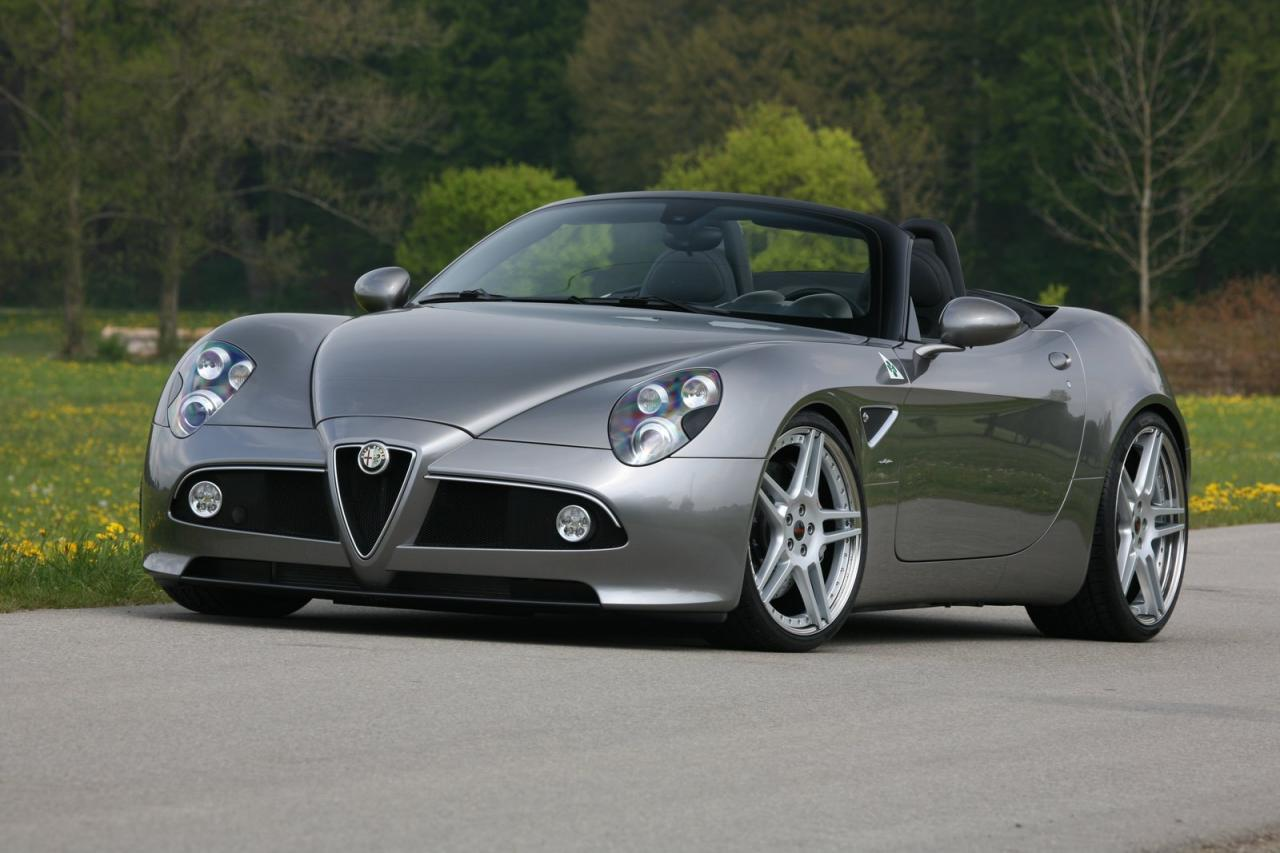 Novitec Alfa Romeo 8C Spider Car Pictures High Resolution Image Wallpapers Download