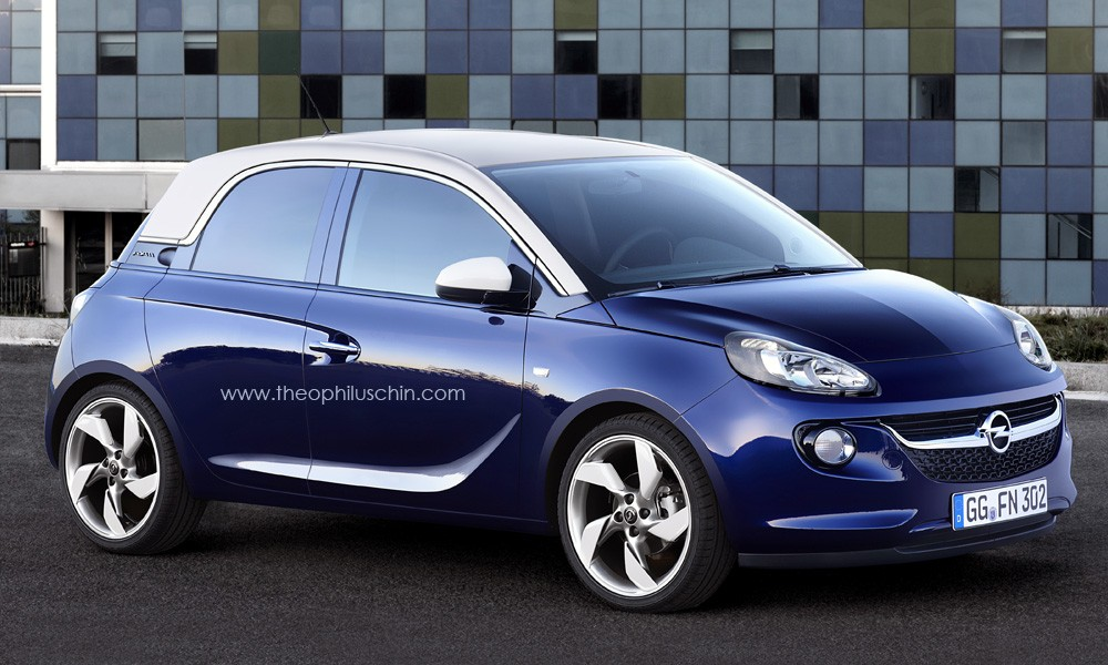 opel adam 4 door ausstattung Bild breaking foto Facelift image Desktop Backgrounds