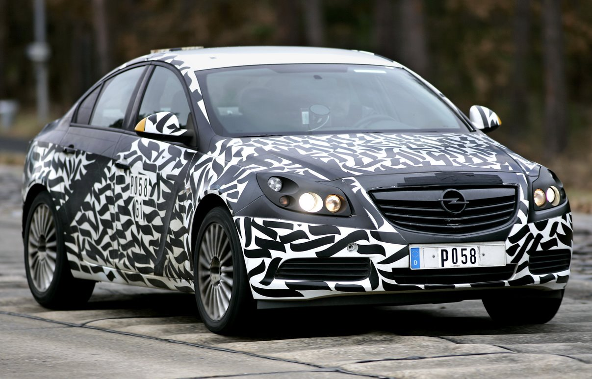 opel insingia meet the upcoming sedan with camo Free Download Image Of