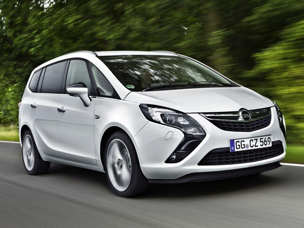 Opel Zafira Tourer ab mit Erdagsantrieb Desktop Backgrounds