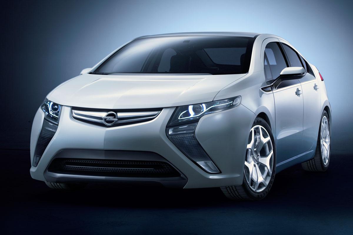 El prototipo Opel Ampera  High Resolution Wallpaper Free