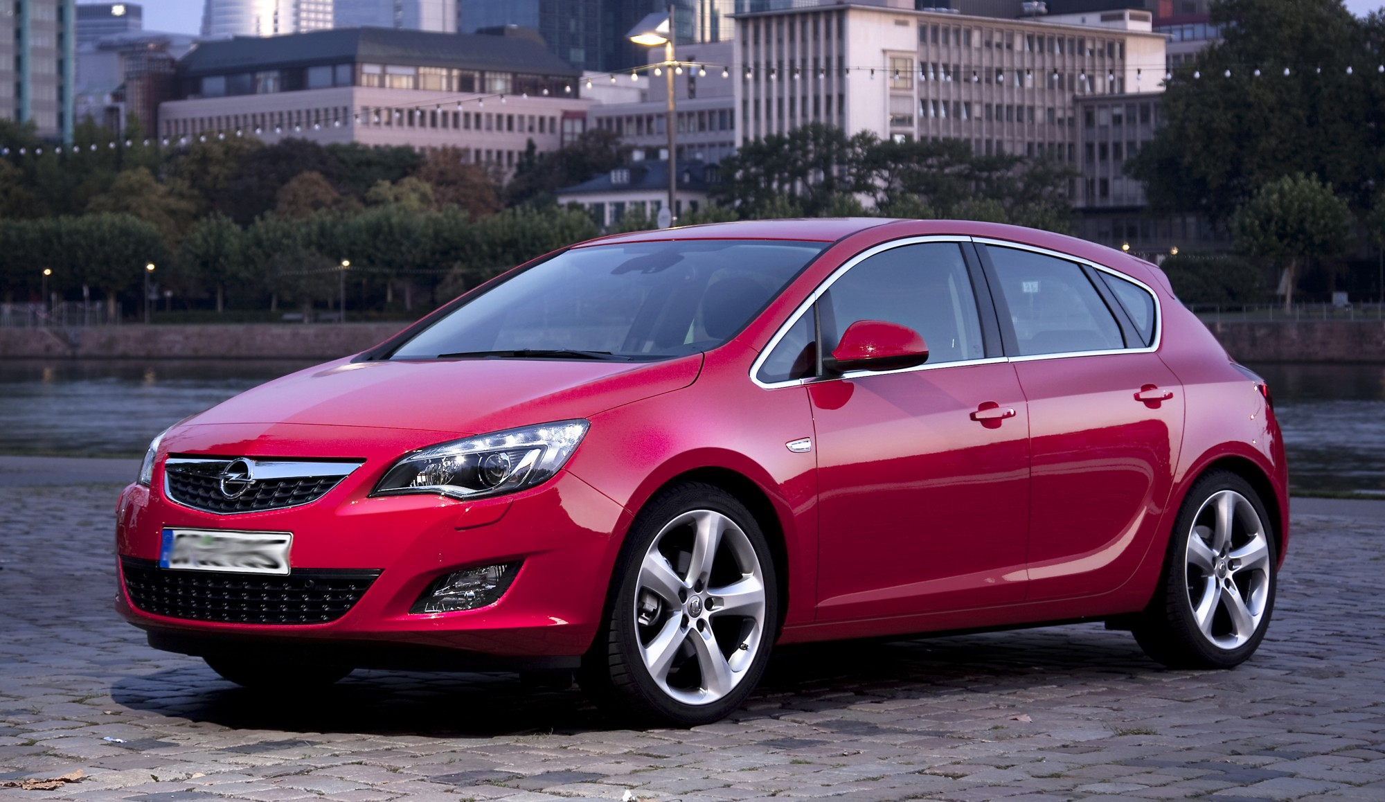 Opel Astra red Wallpapers Download