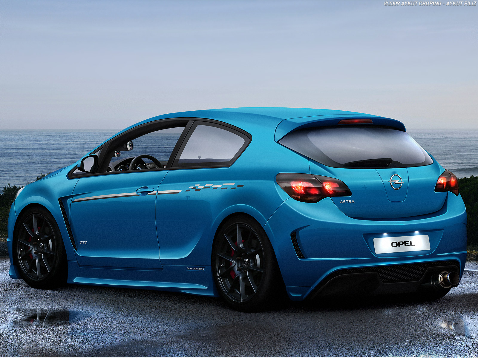 yeni opel astra modifiye design Wallpapers HD Wallpaper