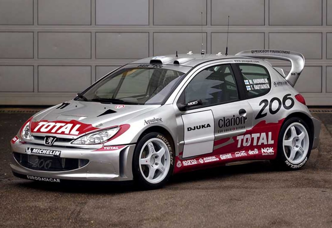Peugeot 206 WRC photos Free Download Image Of