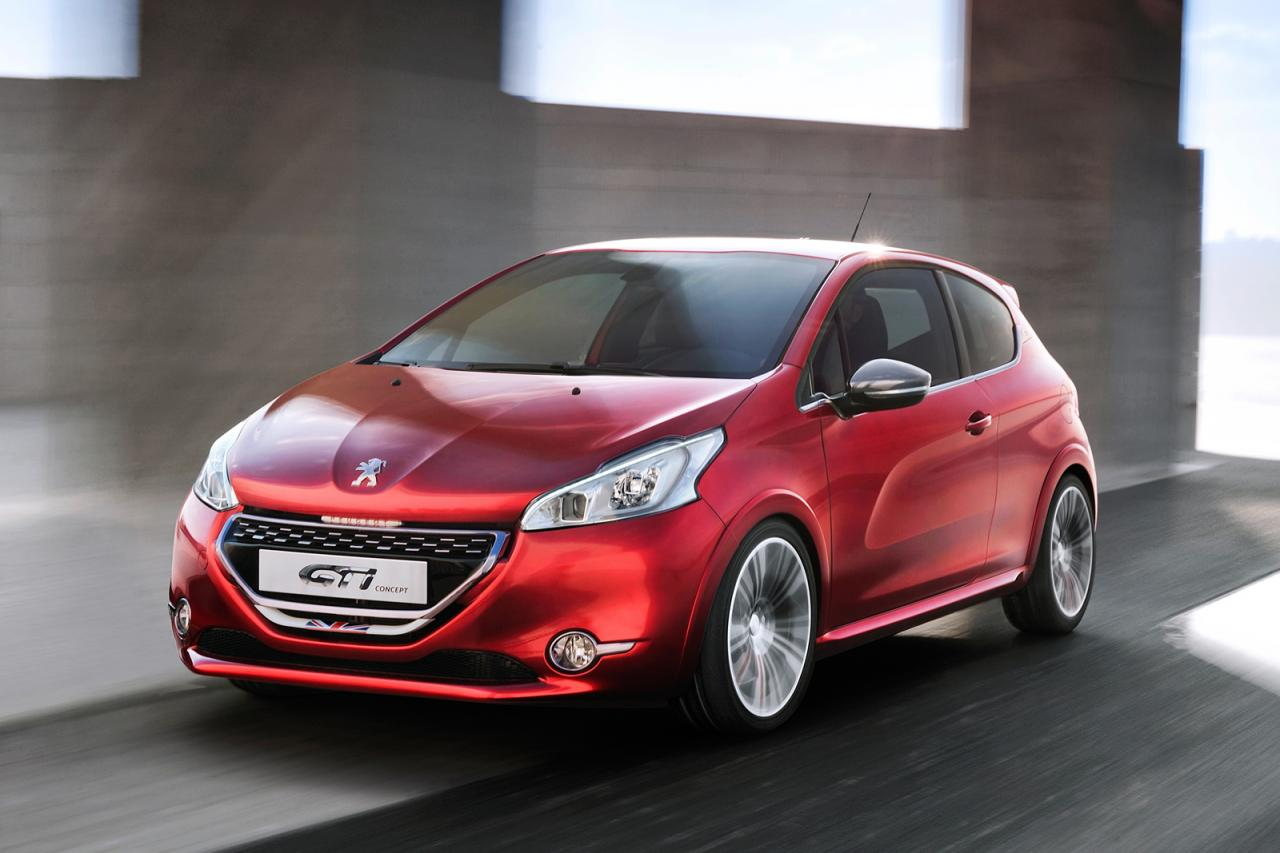 peugeot 208 GTi concept genf autosalo Car Free Download Image Of