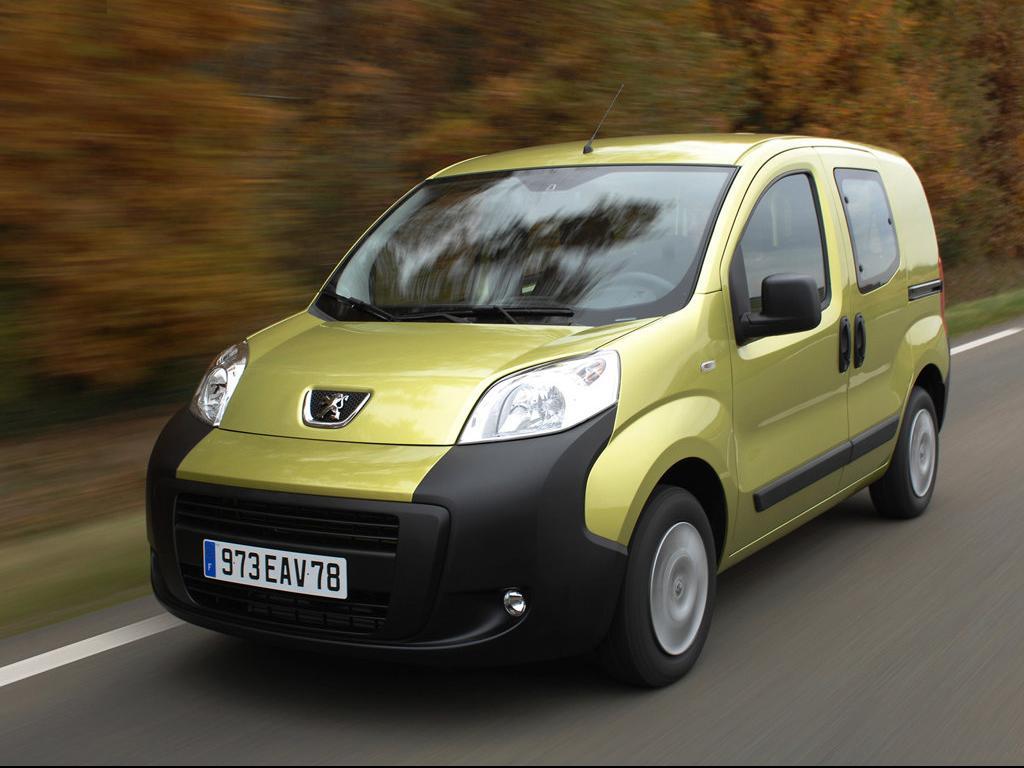 Peugeot Bipper Tepee photos Car Desktop Backgrounds
