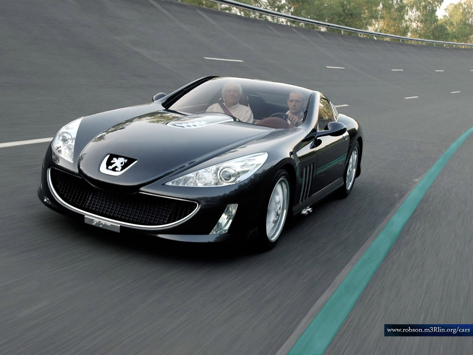 the peugeot 907 is a concept car from revealed first at the Wallpapers HD