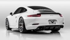 Porsche 911 aero kit from Vorsteiner Wallpapers Desktop Download