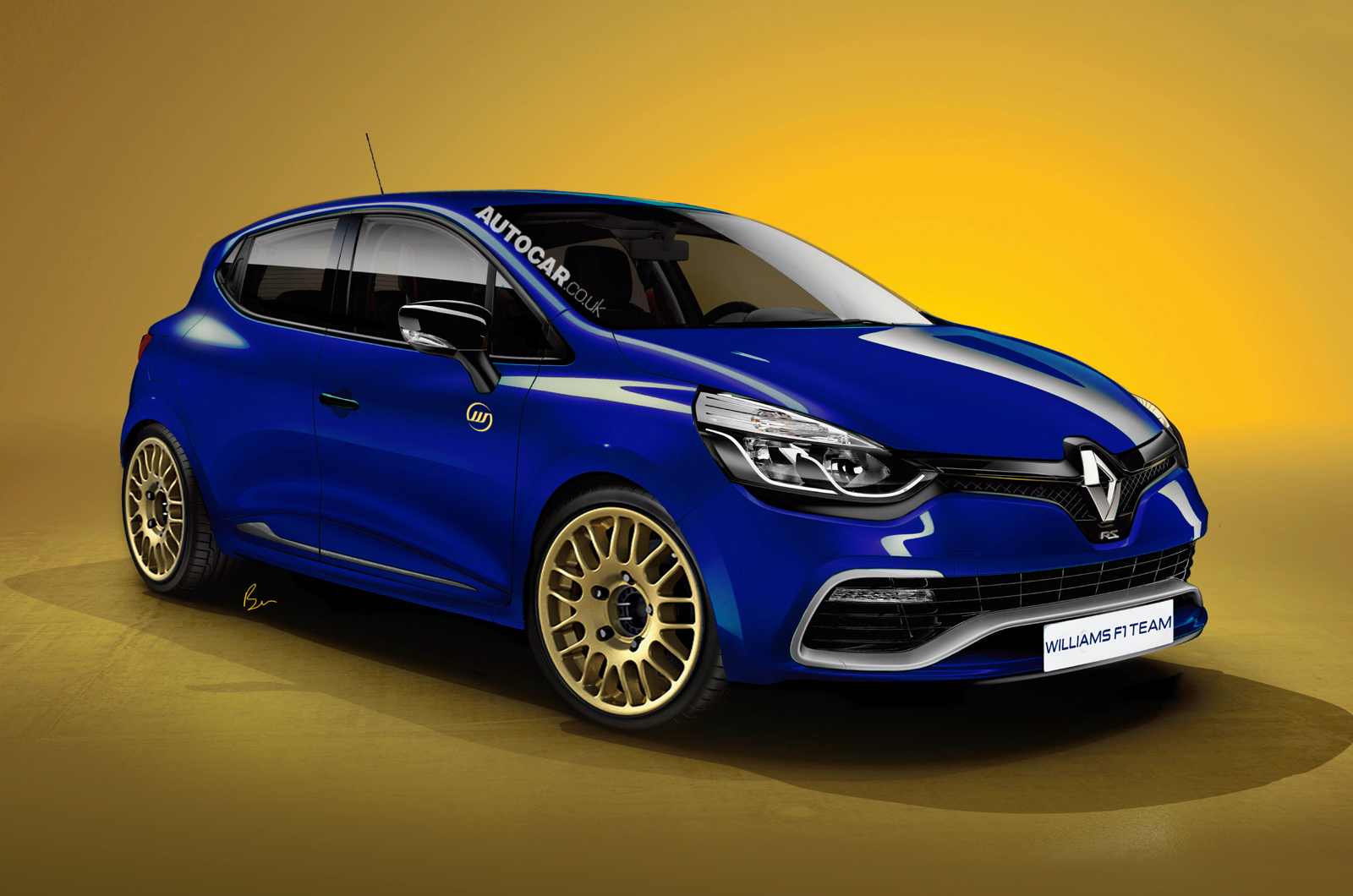 Renault Clio Williams final BSY High Resolution Image Wallpapers Desktop Download