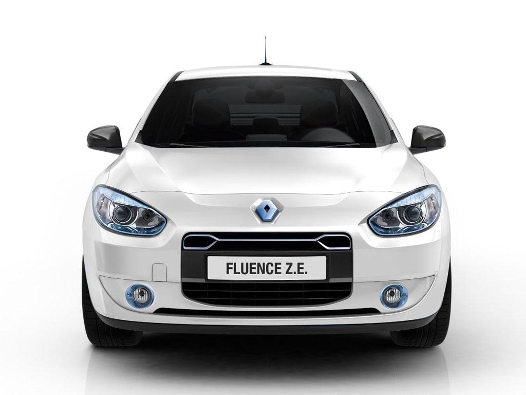 Renault Fluence ZE Car High Resolution Image Download