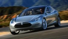 Top end Tesla Model S View Wallpapers Download