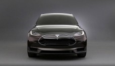 Tesla Model X Electric CUV Car Front  Wallpapers Download