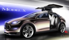 Tesla Model X wide vehicles Car Images Wallpapers HD