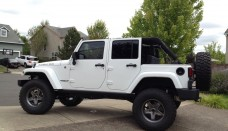 white 4 door jeep dallas wrangler no top rubicon unlimited  free download image