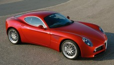 Alfa Romeo Red High Resolution Image Wallpapers Backgrounds