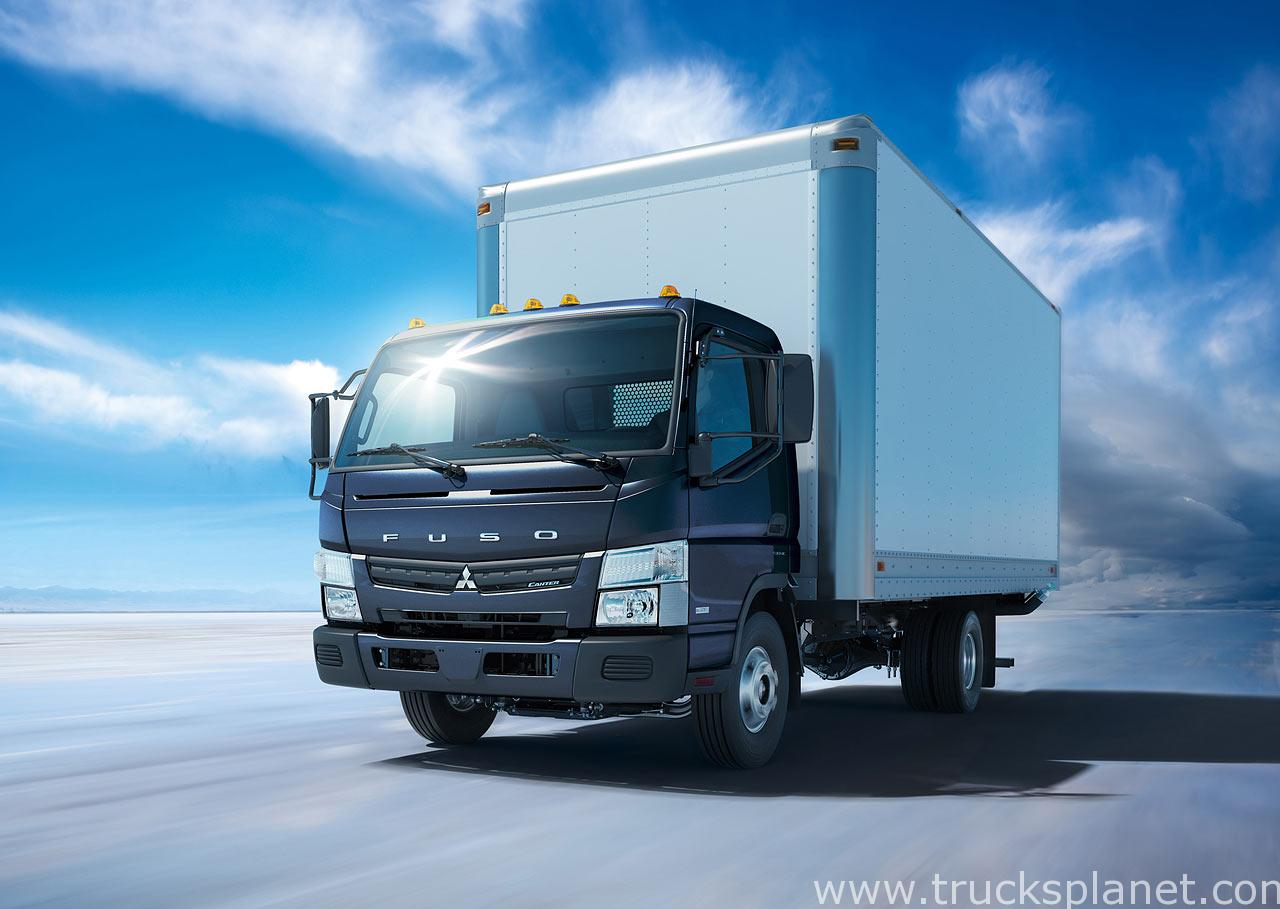 Mitsubishi Fuso Introduces New Model Year FUSO Canter Work Trucks car free stock image Wallpaper