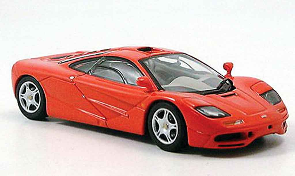 McLaren F1 GTR Road Car red 1993 Minichamps car models list price free image editor