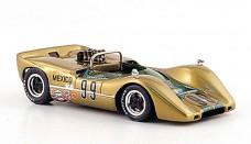 McLaren M6 B No.99 M. Solana Sieger Mexico 1968 Spark Car Model list free image editor